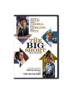The Big Short DVD Cover