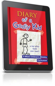 Free Children's Ministry Lesson that teaches kids about David, a kid after God's own heart.  This lesson is from the Diary of a Godly Kid 4-Week Children's Ministry curriculum series.