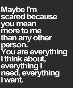 Everything I Need - Great Love Quote