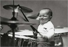 Little Drummer boy baby playing drums Baby Birthday Card, Birthday Wishes, Happy Birthday Drums, Birthday Music, Special Birthday, Birthday Quotes, Pub Radio, Shirley Baker, City Photography