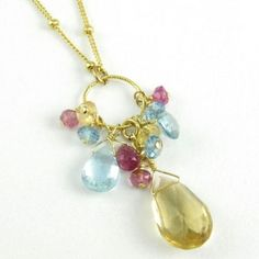 Handmade jewelry makes a perfect gift.