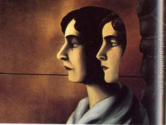 Magritte - Faraway Looks (Les Regards perdus) 1927-1928