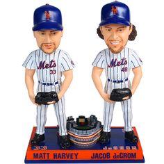 "New York Mets Matt Harvey & Jacob deGrom ""Standing with Citi"" 2015 Bobblehead - MLB.com Exclusive! - MLB.com Shop"