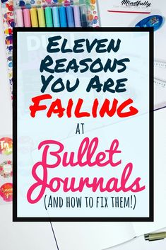 There are many reasons that people struggle with bullet journals. Whether you have complicated layouts, trouble finding inspiration, or lack motivation, this post explores the most common pitfalls people have with their bujos. If you want to know how to start a bullet journal right, keep this article in mind to help prevent these common concerns. #bulletjournal #bulletjournalideas #bujo #bujocommunity #planner Bullet Journal Agenda, Digital Bullet Journal, Bullet Journal Hacks, Bullet Journal Spread, Bullet Journal Layout, Bullet Journal Inspiration, Bullet Journals, Bullet Journal For Beginners, Bullet Journal How To Start A