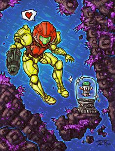 SUPER MISSILE color -METROID- by Warhound-CMP