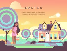 Happy Easter by Pornhub on Behance