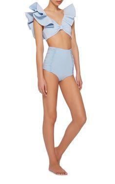 Johanna Ortiz Moon Light Printed Bikini Top