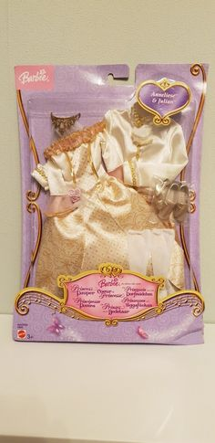 2004 Barbie (Anneliese) & Ken (Julian) - The Princess And The Pauper # ? Doll Clothes Barbie, Barbie Dolls, Princess And The Pauper, Barbie Princess, Doll Outfits, 2000s, Accessories, Fashion, History