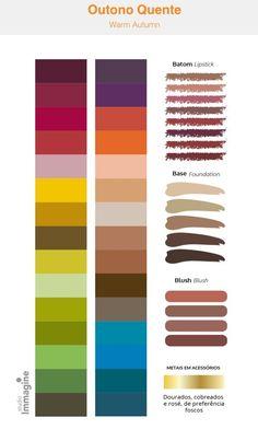 Skin Color Palette, Dark Autumn, Warm Undertone, Skin Routine, Muted Colors, Season Colors, Color Pallets, Beauty Make Up, Color Inspiration