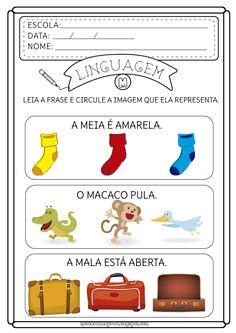 Theme Pictures, English Activities, Pre School, Homeschool, Teaching, Kids, Alice, Cognitive Activities, Activities For Autistic Children
