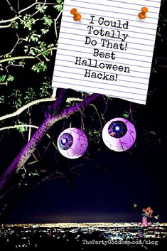 6 Must-Try Halloween Hacks For Even The Most Creatively Challenged Halloween Lover! | The Party Goddess!
