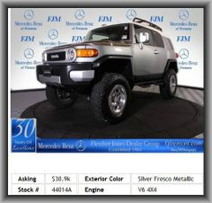 2010 Toyota FJ Cruiser Base SUV  MB of Fremont is proud to have the highest ratings and reviews on Google and DealerRater of all the MB dealers in northern California! This Toyota FJ Cruiser includes: X-SP PKG OFF-ROAD PKG TRAIL TEAM SPECIAL ED PREMIUM SOUND ROOF RACK TOWING PKG PREMIUM WHEELS Drive home in your new pre-owned vehicle with the confidence of knowing you're fully backed by the CARFAX Buyback Guarantee.