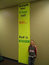 Sunday School Crafts Use as bulletin board