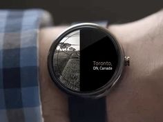 Animating Android Smart Watch by Danial Keshani | Cubex.nl