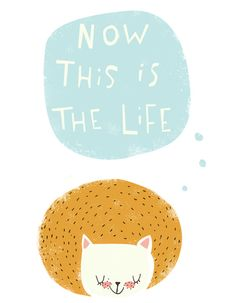 now this is the life Art Print by Lori Joy Smith   Society6