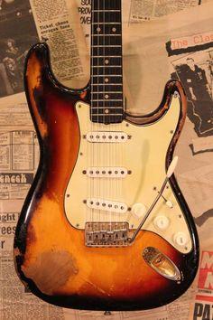 1962 Fender Stratocaster Original Gold Parts