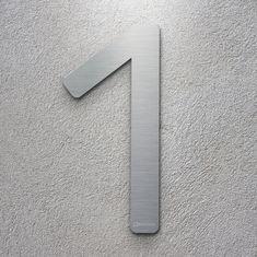 Die 22 Besten Bilder Von Inoxsign Modern Moderne Hausnummern