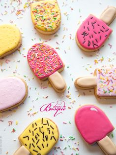Bolachas Gelados • Ice Cream Cookies | Doces do Bosque