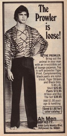 The Prowler Is Loose apparently. (1970s) [via Keith Harrison / Pinterest]