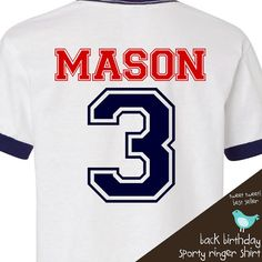 Birthday Boy shirt  perfect for the baseball sports by zoeysattic, $20.00