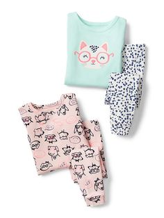 Baby Clothing: Toddler Girl Clothing: we love these sleepwear | Gap