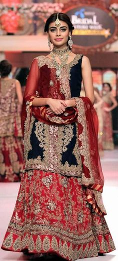 HSY New Couture Collection Telenor Bridal Couture Week 2015 #TBCW2015