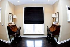 His and Hers Desk Nook on Hallway breaks a long pathway to a garage entry or bedroom.  By AAA Homes of MS, LLC