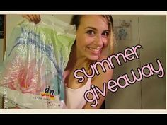 SUMMER GIVEAWAY || DM STORE - YouTube