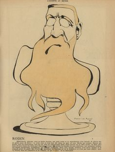 Umberto Brunelleschi ( Haroun-el-Rachid ) 1902 - Rodin