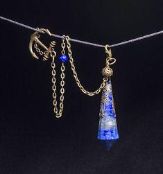 AAAAA Lapis Lazuli Crystal Pendulum