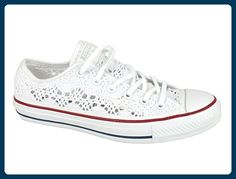 0b133a7db8ff02 Converse Chucks 549314C Chuck Taylor All Star Specialty OX - Optic White Red  Blue Weiss