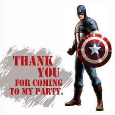 Captain America - Super Hero Training Academy Birthday Party Ideas | Photo 1 of 22