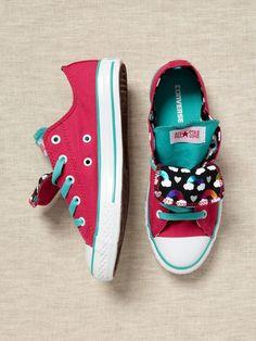 Converse toddler/kids Chuck Taylor Rainbow print sneakers