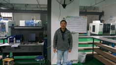 """Assembly Group Leader: Wang Hai.   Wang is a silent but strict one. Before he join in WIT MOLD, he has more than 8 years experience in Japanese molds making, possessed rich experience in lean manufacturing and high standard molds. His motto is """"try my best to be what I can!"""""""