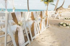 Beach ceremony at Arena Gorda Beach in Punta Cana, Dominican Republic - Riu Palace Bavaro - All Inclusive hotel