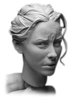 La scultura iper-realistica di Adam Beane