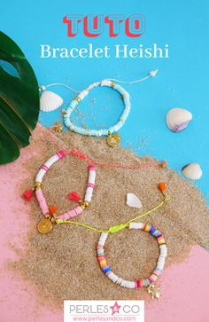 Jewish jewelry with pearls - Jewish jewelry with pearls - Beaded Bracelets Tutorial, Diy Bracelets Easy, Summer Bracelets, Beaded Bracelet Patterns, Colorful Bracelets, Handmade Bracelets, Beaded Jewelry, Bracelets Tissés, Jewellery