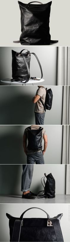 #hardgraft Outsider Backpack / Coal