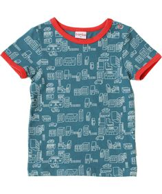 Baba Babywear cool city printed T-shirt. baba-babywear.en.emilea.be