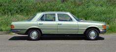 Mercedes-Benz W116 450 SE Silbergrün
