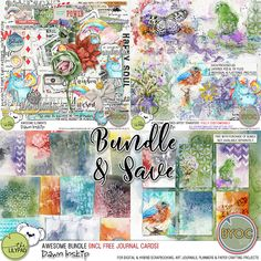 Awesome Bundle {incl FREE Journal Cards}