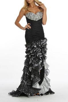 Bella Valerie Dress In Black - Beyond the Rack