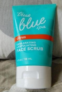 True Blue Spa Citrus Exhilarating & Exfoliating Face Scrub