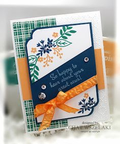 Sneak Peek, Stampin' Up Love and Affection,  Me, My Stamps and I
