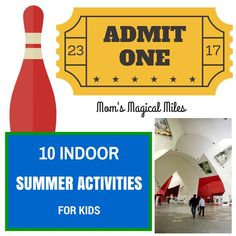10 Ways To Keep Cool And Have Fun INDOORS This Summer! | Mom's Magical Miles