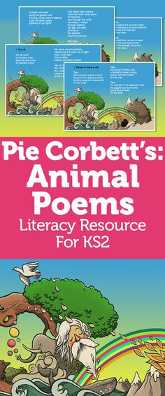 Pie Corbett Animal Poems – Wordplay, Metaphor And Descriptive Language With Zoological Poetry Teaching Poetry, Teaching Writing, Writing Activities, Teaching English, Teaching Resources, Classroom Resources, Writing Ideas, Teaching Tools, Writing Prompts