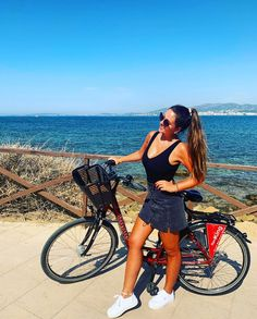 "Nadine Eichenberger 💕 on Instagram: ""Goodbye Mallorca, will miss you☀️ #spain #mallorca #travel #home #bike #sea"" Rowdy Ronda, Becky Lynch, Ronda Rousey, Miss You, Bliss, Spain, Travel, Instagram, I Miss U"