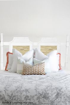 Welcome to another installment of What Would Sarah Do? Today, I'm sharing a bamboo, Chinoiserie headboard found at Habitat Restore.   I ...