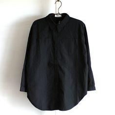しわ加工バックZIPデザインビッグシャツ | モード系ファッションの通販 albino