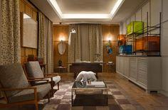 Despacho con dormitorio, proyectado por Alfons Tost en Casa Decor Madrid 2014.